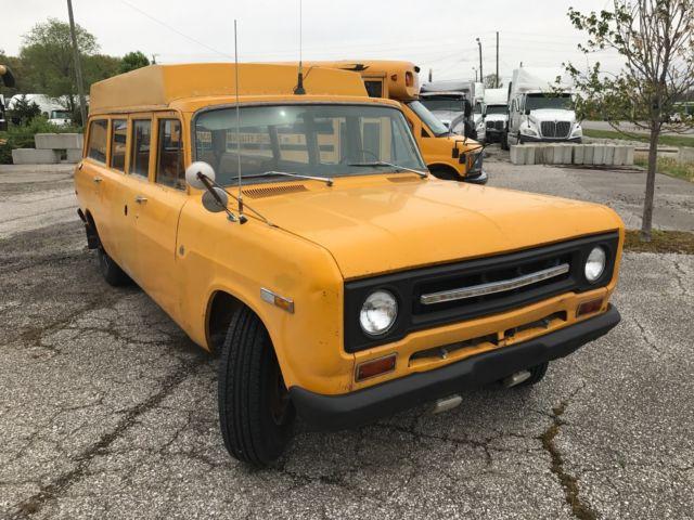 1969 International Harvester Travelall School Bus Airport Limo Monster Truck Classic