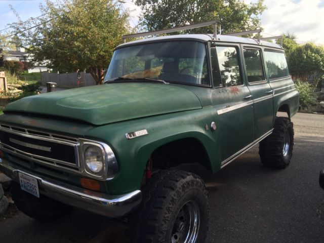 International Lifted Truck >> 1969 International Travelall 4x4 lifted, unrestored - Classic International Harvester Travelall ...