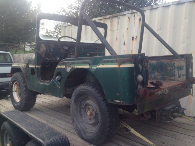 Jeep Cj Parts >> 1969 Jeep Cj5 Parts Only No Title Good Running Engine