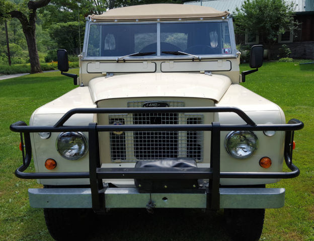 1969 Land Rover 88 Quot Series 2a Bugeye Classic Land Rover