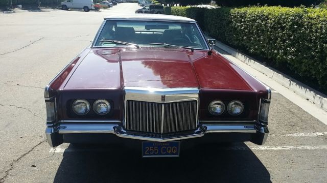Lincoln Continental Mark Iii Coupe Original Low Miles
