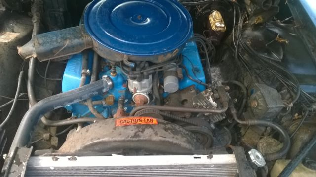 Lincoln Continental Mark Iii Rebuilt Ci Engine And Transmission