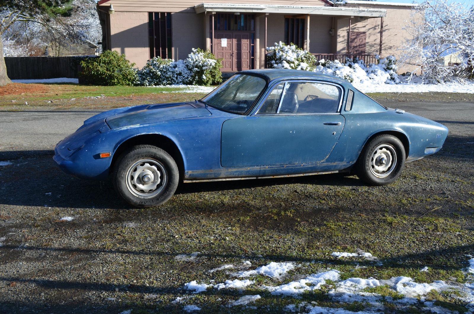 1969 Lotus Elan +2 classic british sports car coupe ...  1969 Lotus Elan...