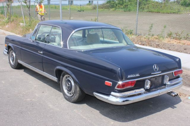 1969 mercedes benz 280 se coupe barn find classic for Buy old mercedes benz