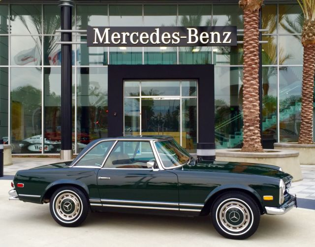 1969 mercedes benz 280sl ca survivor garage find fully documented at no reserve classic. Black Bedroom Furniture Sets. Home Design Ideas