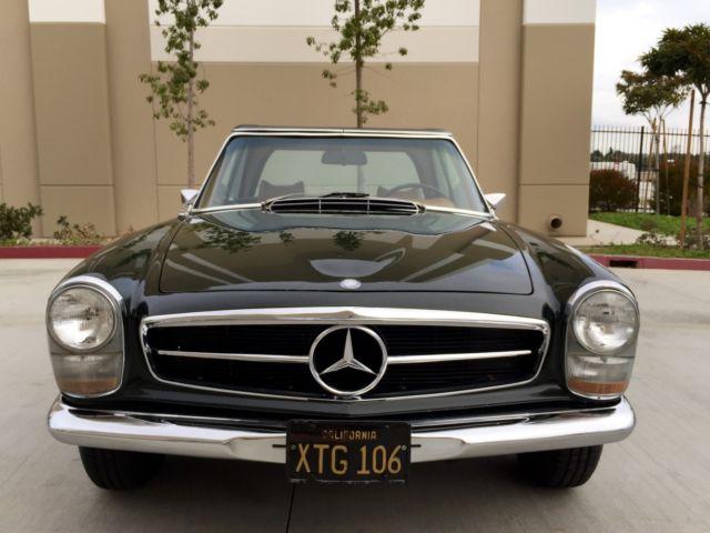 1969 mercedes benz 280sl ca survivor garage find fully for Mercedes benz of long beach service