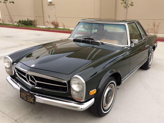 1969 mercedes benz 280sl ca survivor garage find fully for Buy old mercedes benz