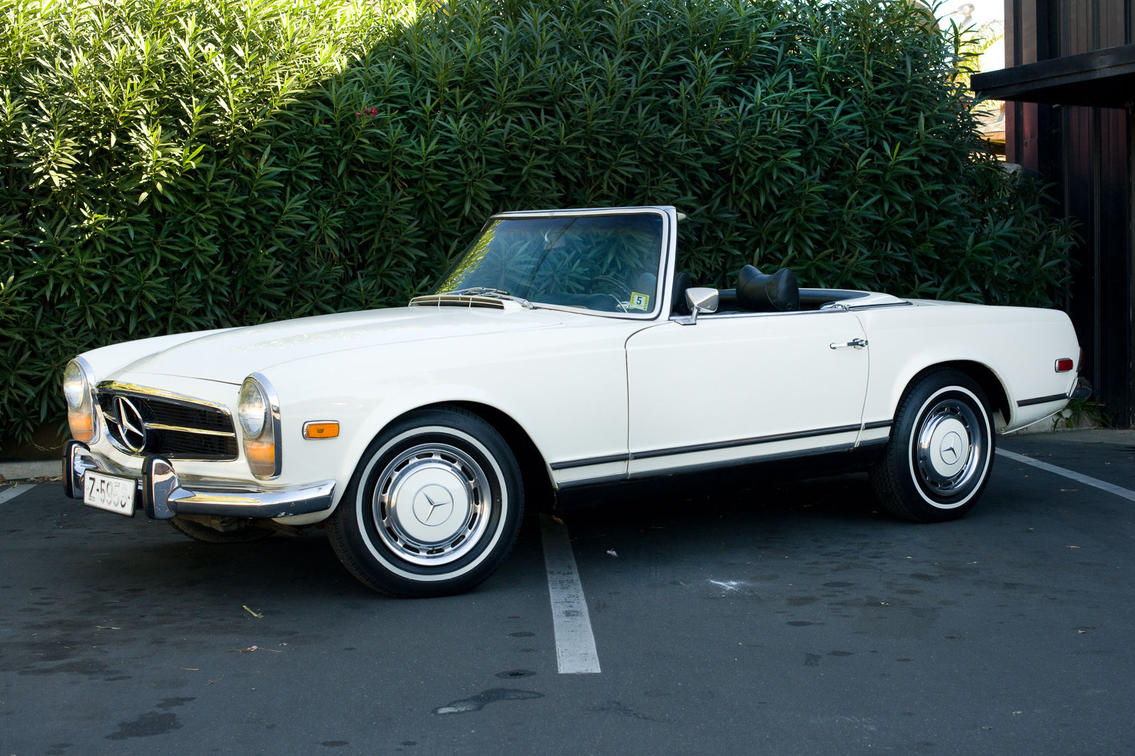 1969 mercedes benz 280sl convertible roadster classic