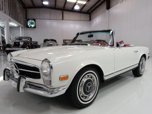 1969 mercedes benz 280sl roadster includes original sales for Books mercedes benz