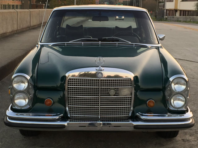 1969 mercedes benz 300sel 6 3 w109 in db 268 dark green w. Black Bedroom Furniture Sets. Home Design Ideas