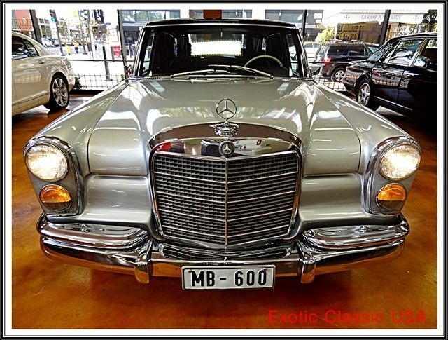 1969 mercedes benz 600 swb only 2 677 built car in for Mercedes benz 600 series