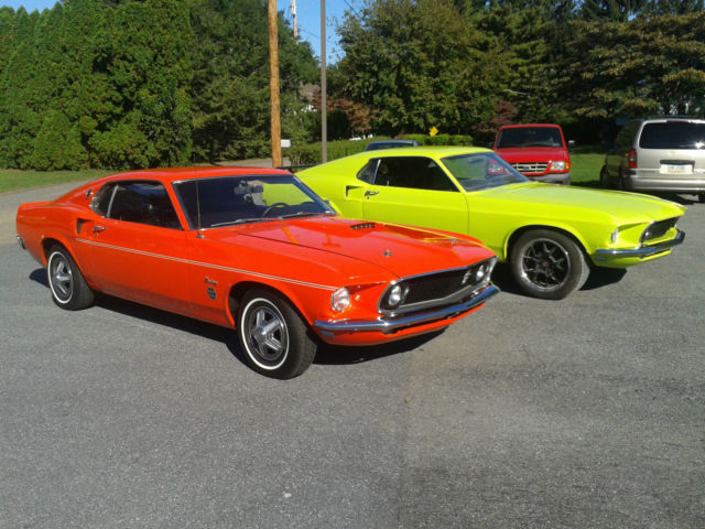 1969 mustang fastback 600 limited edition rare groovy green classic ford mustang 1969 for sale. Black Bedroom Furniture Sets. Home Design Ideas