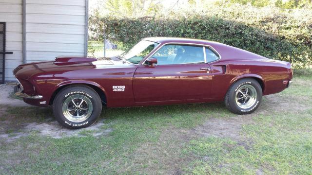 Mustang Fastback Boss Tribute