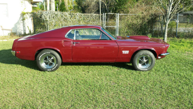 1969 mustang fastback boss 460 tribute classic ford mustang 1969 for sale. Black Bedroom Furniture Sets. Home Design Ideas