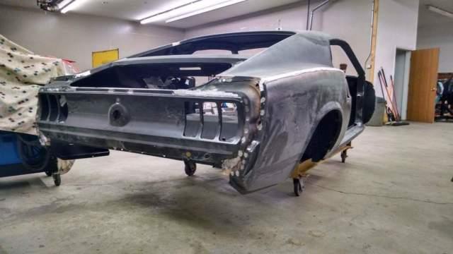 1969 Mustang Fastback Full Frame 2016 Efi 5 0 Coyote
