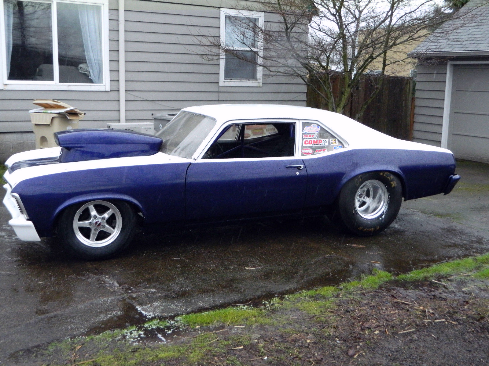 1969 Nova Prostreet Or Drag Project Car Exp 7 50 Cert