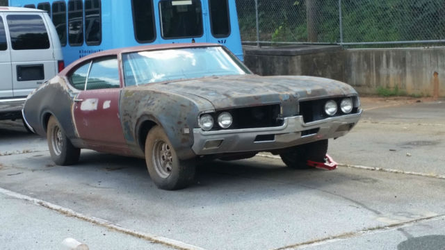 1969 Olds Cutlass S Holiday Hardtop--NEW and REBUILT