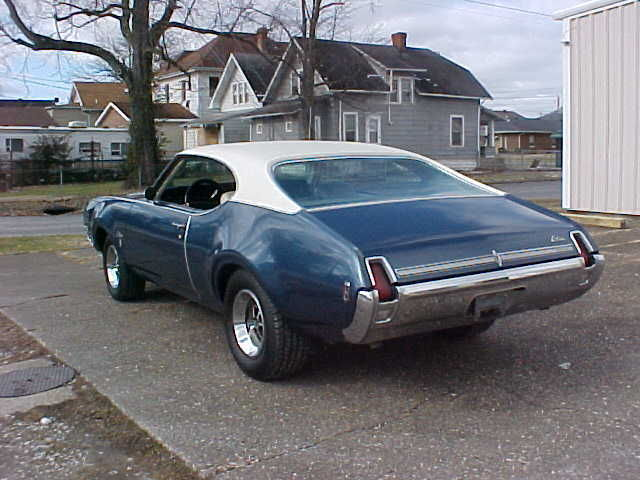1969 OLDSMOBILE CUTLASS S 2DR HARDTOP - Classic Oldsmobile Cutlass 1969 for sale