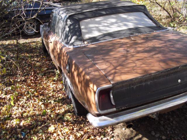 1969 Plymouth Barracuda convertible 440,runs needs to be