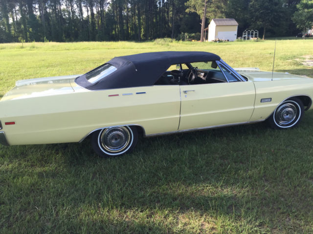 1969 Plymouth Fury Sport 6 3l Convertible Classic