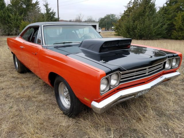 1969 Plymouth Road Runner 426 Hemi Runs And Drives