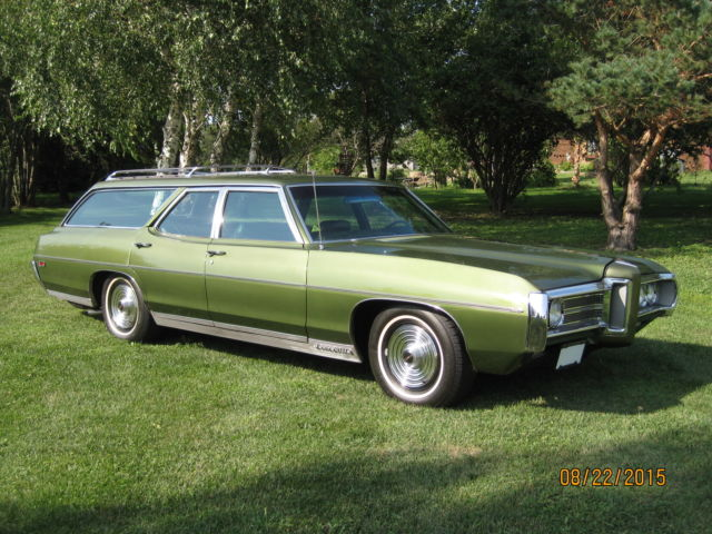1969 Pontiac Bonneville 9 Passenger Wagon Factory 428 360