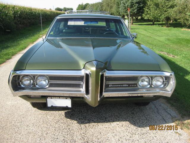 1969 pontiac bonneville 9 passenger wagon factory 428 360. Black Bedroom Furniture Sets. Home Design Ideas