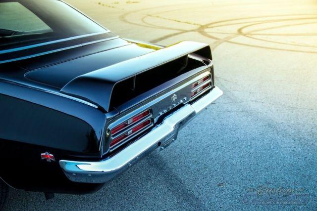 1969 Pontiac Firebird 350ci 350hp Factory Ho Phs Doc Auto Ps Pb Triple Blk Classic