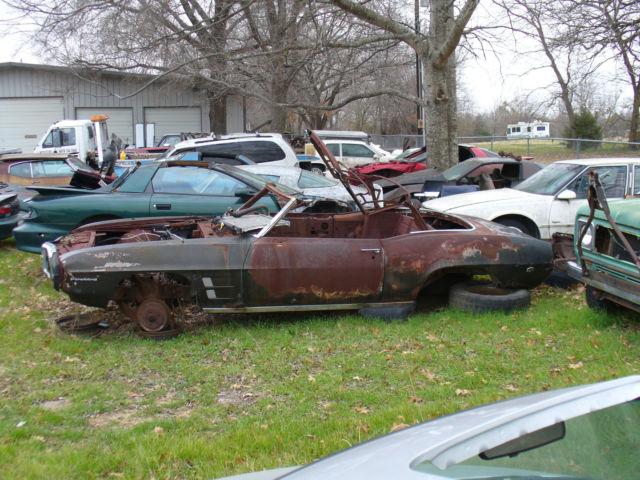 1969 Pontiac Firebird convertible project - Classic Pontiac Firebird