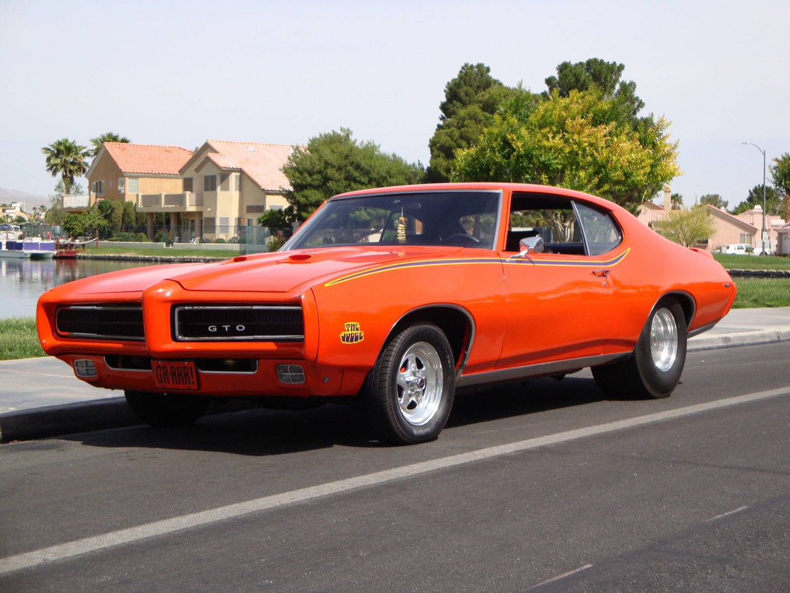 Pro Touring Muscle Cars For Sale >> 1969 Pontiac GTO JUDGE Pro Street - Classic Pontiac GTO 1969 for sale