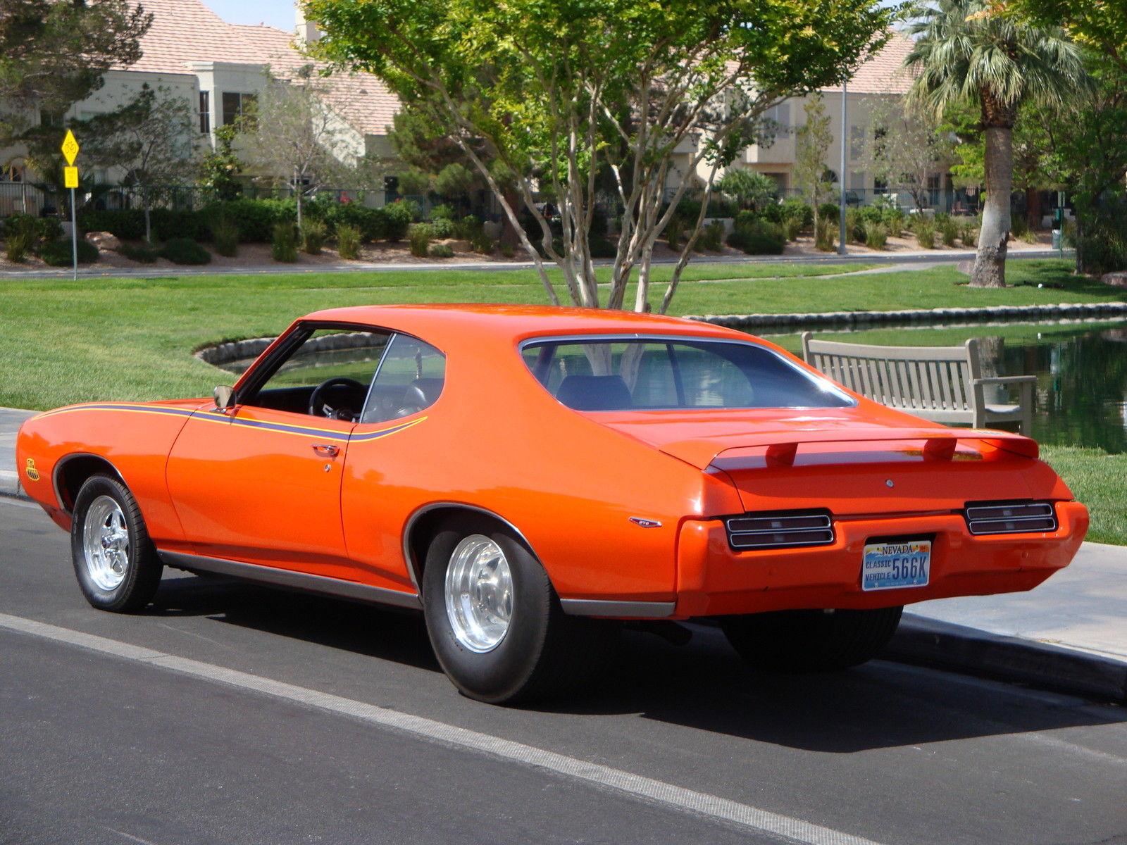 1969 Pontiac GTO JUDGE Pro Street Classic Pontiac GTO