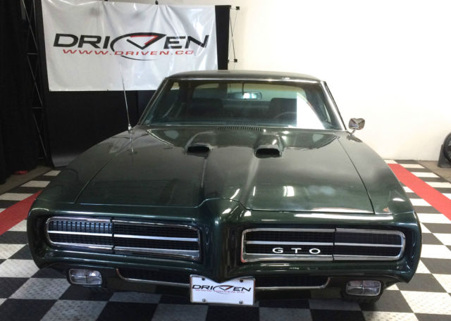 1969 Pontiac GTO RAM AIR III Numbers car, Black Plate, One