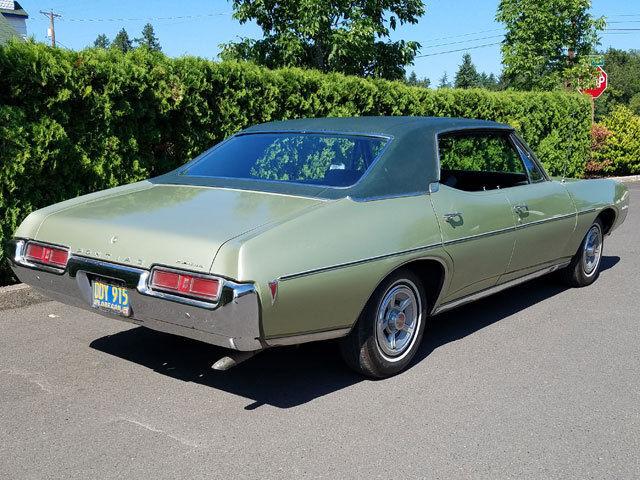 1969 Pontiac Lemans 4d Hardtop 350 C I Original Survivor