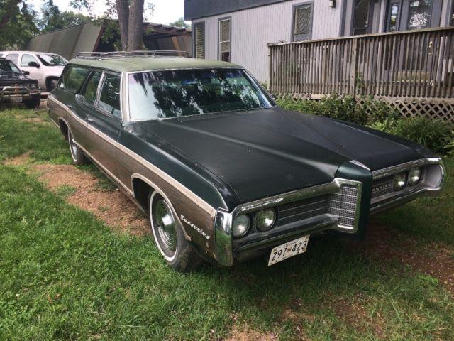 1969 Pontiac Safari Wagon No Reserve Classic Pontiac
