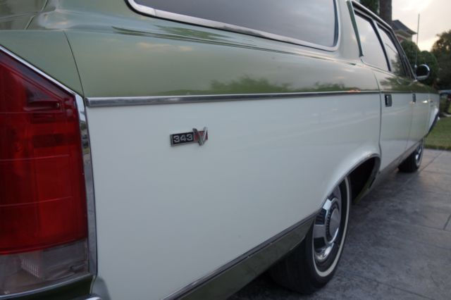 1969 Rebel Sst Wagon 343 V8 24k Miles 1 Owner Original