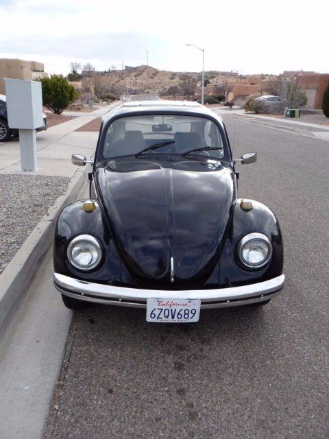 1969 Volkswagen Beetle VW Bug Salvage Title - Read Below