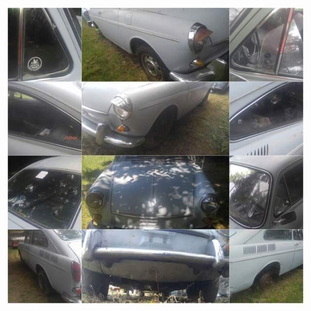 Volkswagen Fastback For Sale: 1969 Volkswagen Type3 Fastback Automatic