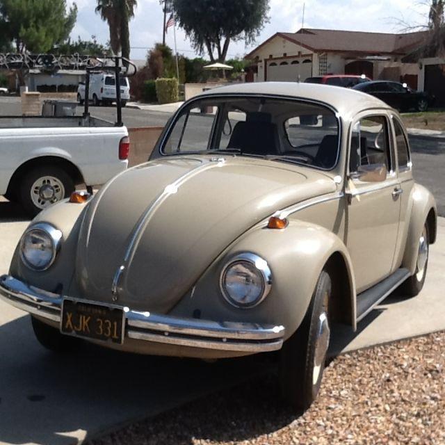 1969 vw beetle 35k miles one owner barn find classic volkswagen beetle classic 1969 for sale. Black Bedroom Furniture Sets. Home Design Ideas