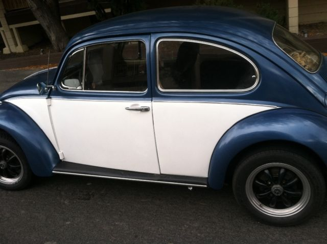 1969 vw beetle clean title new parts cherry 74000 orig miles