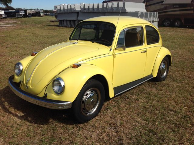 1969 VW Beetle Nicely Refurbished Old School Beetle!!!!! Rare automatic shift! - Classic ...