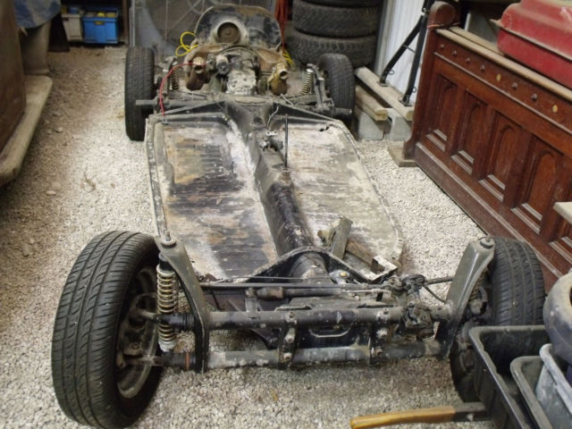 1969 VW Beetle – rolling chassis with engine & transmission, no title - Classic Volkswagen ...