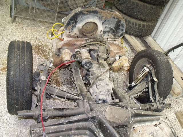 Vw Beetle Rolling Chassis With Engine Amp Transmission No Title