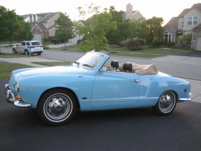 1969 Vw Karmann Ghia Convertible Rare Automatic
