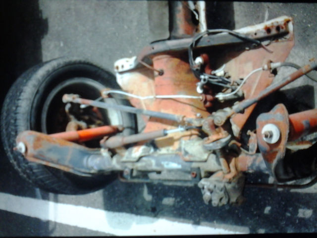 1969 Vw Type 1 Irs Rolling Chassis W Trans Ball Joint