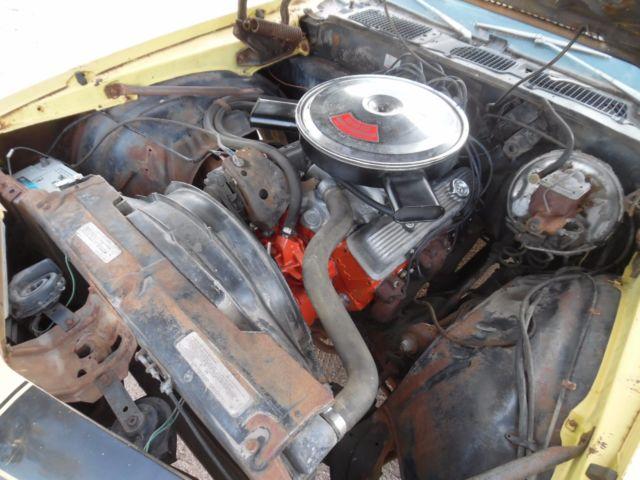 1970 1/2 Camaro Z28 Orig LT1 350/360hp Rare Turbo 400 Orig