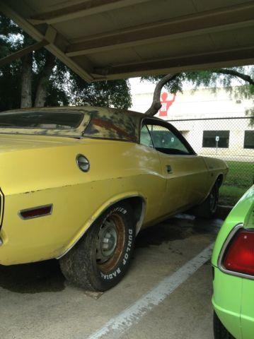 1970 70 Dodge Challenger RT R/T SE RT/SE Build Sheet, Engine