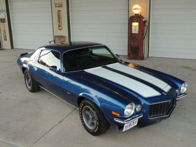 1970 70 z28 camaro 4 speed m22 410 posi blue rs body off restored 69 350 lt1 classic chevrolet. Black Bedroom Furniture Sets. Home Design Ideas