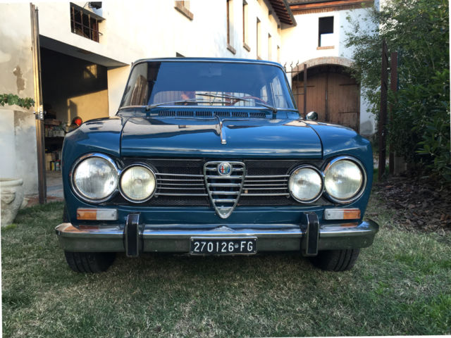 1970 alfa romeo giulia super 1 6 biscione sharp clean low mile original classic alfa romeo. Black Bedroom Furniture Sets. Home Design Ideas