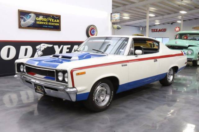 1970 amc rebel the machine red white and blue coupe 390 v8 340hp ps pb auto classic amc. Black Bedroom Furniture Sets. Home Design Ideas