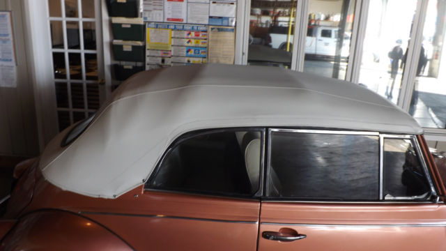1970 Beetle Conv Top Paint Interior Motor All Redone And